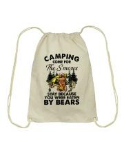 Camping Come For Drawstring Bag thumbnail