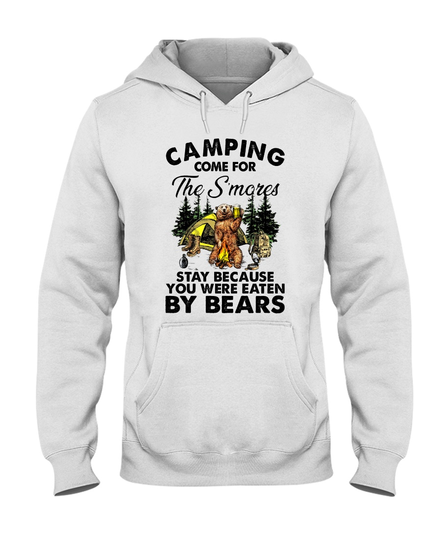Camping Come For Hooded Sweatshirt