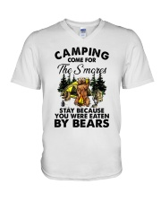 Camping Come For V-Neck T-Shirt thumbnail