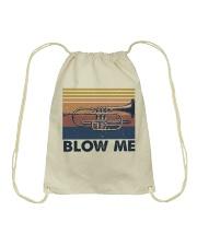 Blow Me Funny Shirt Drawstring Bag thumbnail