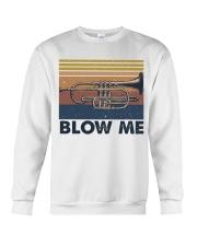 Blow Me Funny Shirt Crewneck Sweatshirt thumbnail