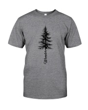 Wander Pine Tree Classic T-Shirt front