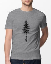 Wander Pine Tree Classic T-Shirt lifestyle-mens-crewneck-front-13