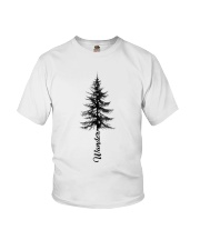 Wander Pine Tree Youth T-Shirt tile