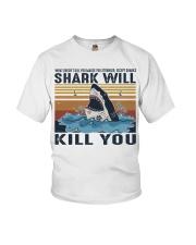 Shark Will Kill You Youth T-Shirt thumbnail