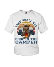 Thou Shall Not Poop IN The Camper Youth T-Shirt thumbnail