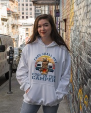 Thou Shall Not Poop IN The Camper Hooded Sweatshirt lifestyle-unisex-hoodie-front-1