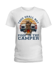 Thou Shall Not Poop IN The Camper Ladies T-Shirt thumbnail