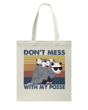 Dont Mess With My Posse Tote Bag thumbnail