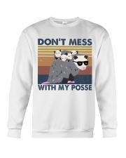 Dont Mess With My Posse Crewneck Sweatshirt thumbnail