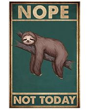 Nope Today 11x17 Poster front