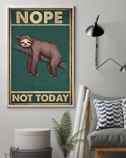 Nope Today 11x17 Poster lifestyle-poster-1