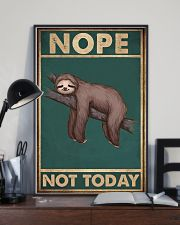 Nope Today 11x17 Poster lifestyle-poster-2