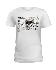 What Feelings Sound Like Ladies T-Shirt thumbnail