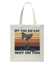 Eff You See Key Tote Bag thumbnail