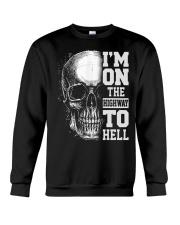 Im On The Highway To Hell Crewneck Sweatshirt thumbnail