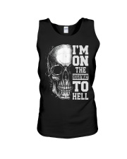 Im On The Highway To Hell Unisex Tank thumbnail