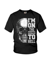Im On The Highway To Hell Youth T-Shirt thumbnail