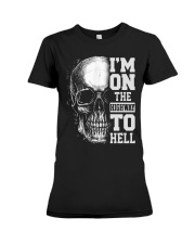 Im On The Highway To Hell Premium Fit Ladies Tee thumbnail