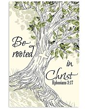 Be Rooted In Christ 11x17 Poster front