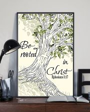 Be Rooted In Christ 11x17 Poster lifestyle-poster-2