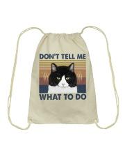 Dont Tell Me What To Do Drawstring Bag thumbnail