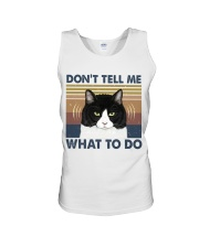 Dont Tell Me What To Do Unisex Tank thumbnail