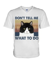 Dont Tell Me What To Do V-Neck T-Shirt thumbnail