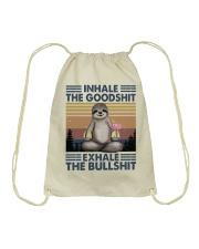 Inhale The GoodShlt Drawstring Bag thumbnail