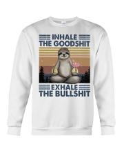 Inhale The GoodShlt Crewneck Sweatshirt thumbnail
