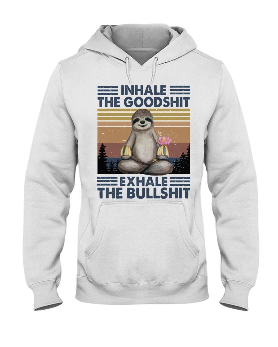Inhale The GoodShlt Hooded Sweatshirt