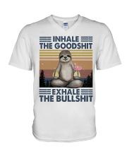 Inhale The GoodShlt V-Neck T-Shirt thumbnail