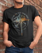 Lets Go Far Away Classic T-Shirt apparel-classic-tshirt-lifestyle-26