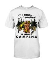 I Think Quarantine Classic T-Shirt thumbnail