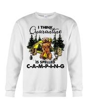 I Think Quarantine Crewneck Sweatshirt thumbnail