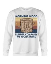 Morning Wood Funny Shirt Crewneck Sweatshirt thumbnail