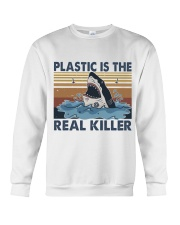 Plastic Is The Real Killer Crewneck Sweatshirt thumbnail