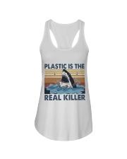 Plastic Is The Real Killer Ladies Flowy Tank thumbnail