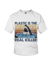 Plastic Is The Real Killer Youth T-Shirt thumbnail