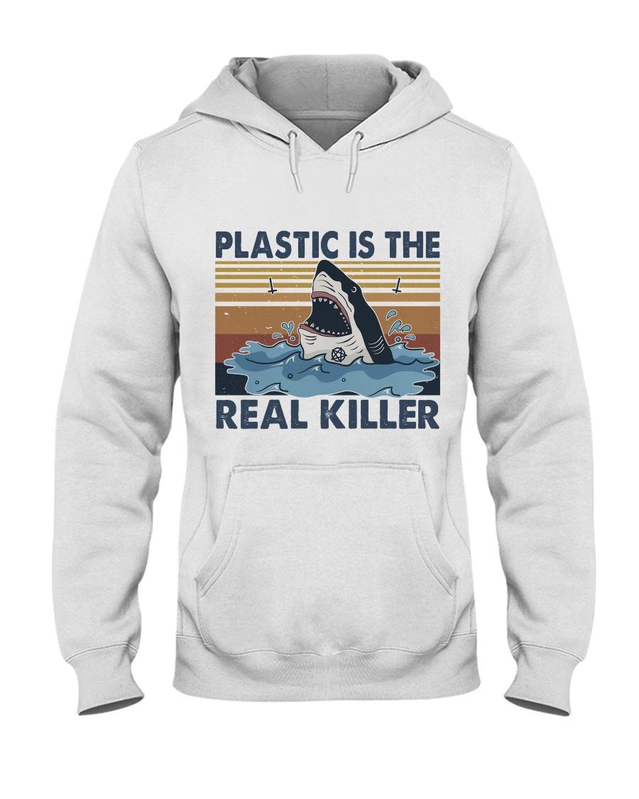 Plastic Is The Real Killer Hooded Sweatshirt