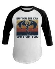 Eff You See Key Baseball Tee thumbnail