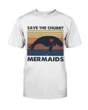 Save The Chubby Mermaids Classic T-Shirt thumbnail