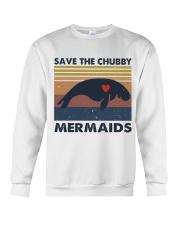 Save The Chubby Mermaids Crewneck Sweatshirt thumbnail