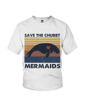 Save The Chubby Mermaids Youth T-Shirt thumbnail