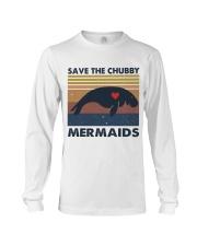 Save The Chubby Mermaids Long Sleeve Tee thumbnail