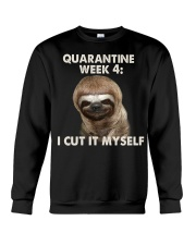Quarantine Week 4 Crewneck Sweatshirt thumbnail