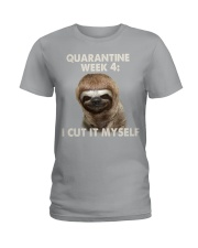 Quarantine Week 4 Ladies T-Shirt thumbnail