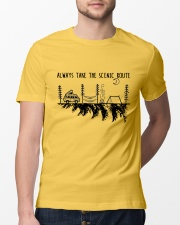 Always Take The Scenic Route Classic T-Shirt lifestyle-mens-crewneck-front-13