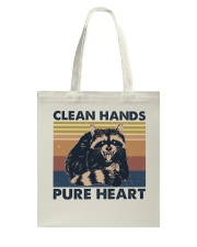 Clean Hands Pure Heart Tote Bag thumbnail