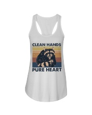 Clean Hands Pure Heart Ladies Flowy Tank thumbnail
